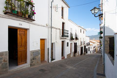 Zahara, Cadiz, Andalucia, Spain Stock Photography