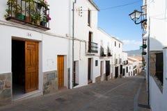 Zahara, Cadiz, Andalucia, Spain Stock Photography