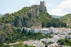 Zahara de Ла Сьерра - Испания стоковое изображение