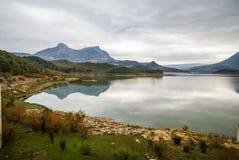 Zahara de la Sierra, Andalusien, Spanien Lizenzfreies Stockbild