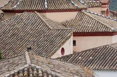 Zahara de la Sierra, Cadix. images stock