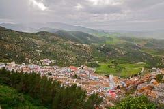 Zahara de la Sierra, Cadiz Royalty Free Stock Photo