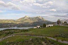Zahara de la Sierra and Pueblos Blancos route Royalty Free Stock Photography