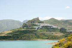 Zahara de la Sierra - Spain royalty free stock photography