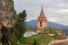 Zahara de la Sierra church, Cadiz Royalty Free Stock Image