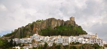 Zahara de la Sierra, Cadiz Stock Image