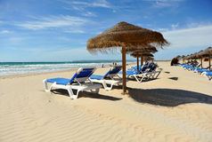 Zahara de los Atunes, Atlanterra beach, Cadiz province, Spain Stock Photos