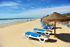 Zahara de los Atunes, Atlanterra beach, Cadiz province, Spain Stock Images