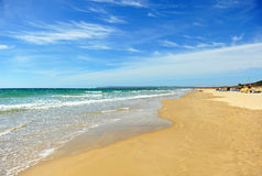 Zahara de los Atunes beach, Cadiz province, Spain Royalty Free Stock Photo