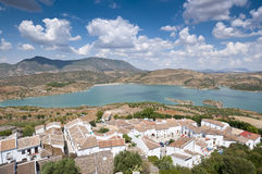 Zahara El Gastor Reservoir Stock Photography