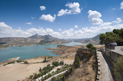 Zahara El Gastor Reservoir Royalty Free Stock Photo