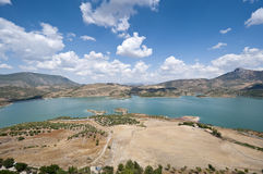 Zahara El Gastor Reservoir Stock Photos
