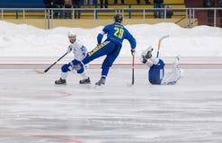 Zaharov Petr(blue) Stock Photography