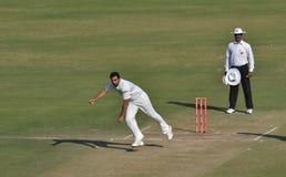 Cricketer Zahir Khan Stock Photo