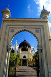 Zahir Mosque Stock Photo