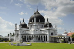 Zahir Mosque a.k.a Masjid Zahir in Kedah Royalty Free Stock Photo
