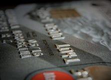 Zahl auf dem Kartenabschluß oben Stockfotos