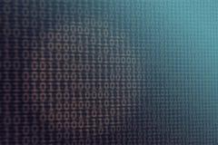 Zahl-Beschaffenheits-Blau-Hintergrund Lizenzfreie Stockfotos