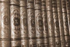 Zahl-Bibliotheks-Bücher, Forschung Lizenzfreies Stockbild