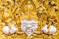 Zahl des buddhistischen Engels in einem Tempel Lizenzfreie Stockfotos