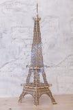 Zahl des Eiffelturms auf einem Boden Lizenzfreie Stockfotografie