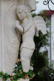 Zahl des Engels, Teil der Statue von Jungfrau Maria, Mutter des Gottes Stockfotografie
