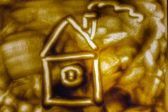 Zahl des Hauses Lizenzfreies Stockfoto