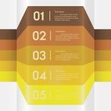 Zahl-Fahnenschablone des Designs saubere Lizenzfreies Stockfoto