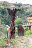 Zahl am Garten in Tiantou-Dorf Lizenzfreie Stockfotos