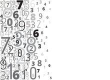 Zahl-Hintergrund vektor abbildung