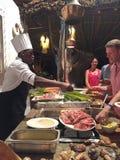 Zahl von Fischen in Sansibar-Restaurant Lizenzfreies Stockfoto