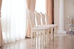 Zahl von Stühlen lizenzfreies stockfoto