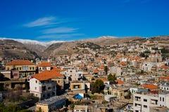 Zahle, Bekaa Vallei, Libanon. Stock Afbeeldingen