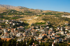 Zahle, Bekaa Valley, Líbano. Fotografia de Stock