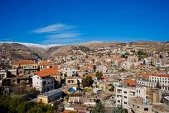 Zahle, Bekaa Valley, Líbano. Imagem de Stock