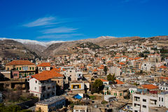 Zahle, Bekaa Valley, Liban. Images stock