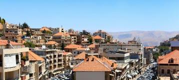 Zahle, Líbano Imágenes de archivo libres de regalías