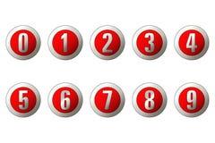 Zahlen Stockfoto