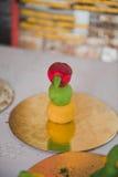 Zahlen für Dekoration des Kuchens 3621 der Kinder Lizenzfreie Stockfotografie