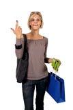 Zahlen im Einkaufen Lizenzfreie Stockbilder