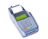 Zahlen mit Kreditkarte Lizenzfreie Stockbilder