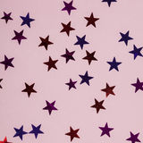 Zahlen Sterne von verschiedenen Farben Lizenzfreie Stockfotografie