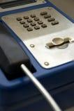 Zahlen am Telefon Stockfotos