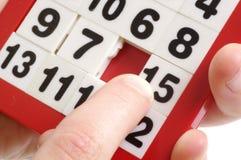 Zahlen verwirren und Finger Stockbilder