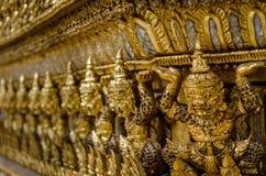 Zahlen von thailändischen Dämonen Stockbilder