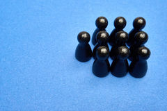 Zahlkonzept Kann für eine Einteilung in einer Darstellung verwendet werden aufzuzählen Zehn - 10 Stockbild