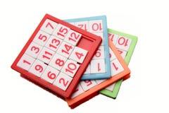 Zahlpuzzlespiele Lizenzfreies Stockfoto