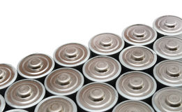 Zahlreiche AA-Batterien Stockbilder