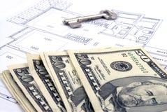 Zahlung für Gehäuse-Darlehen Lizenzfreies Stockbild
