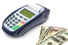 Zahlungsterminal lizenzfreie stockbilder